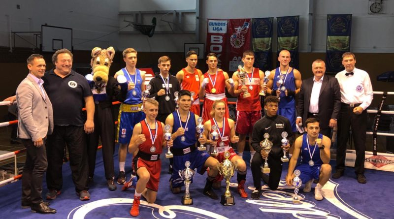Abschlussbild Boxturnier 2019