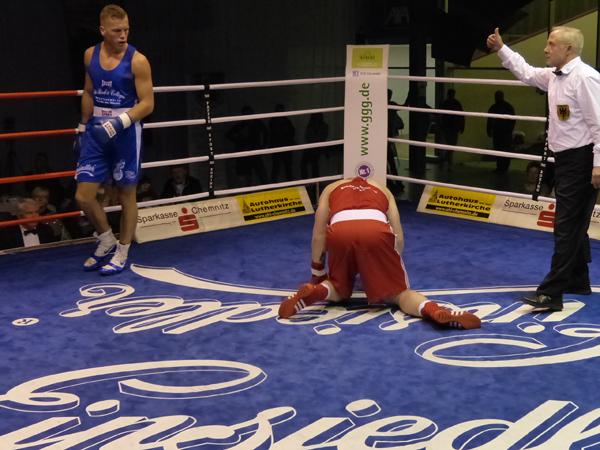 Roy Korving gegen Adrian Chmielewski